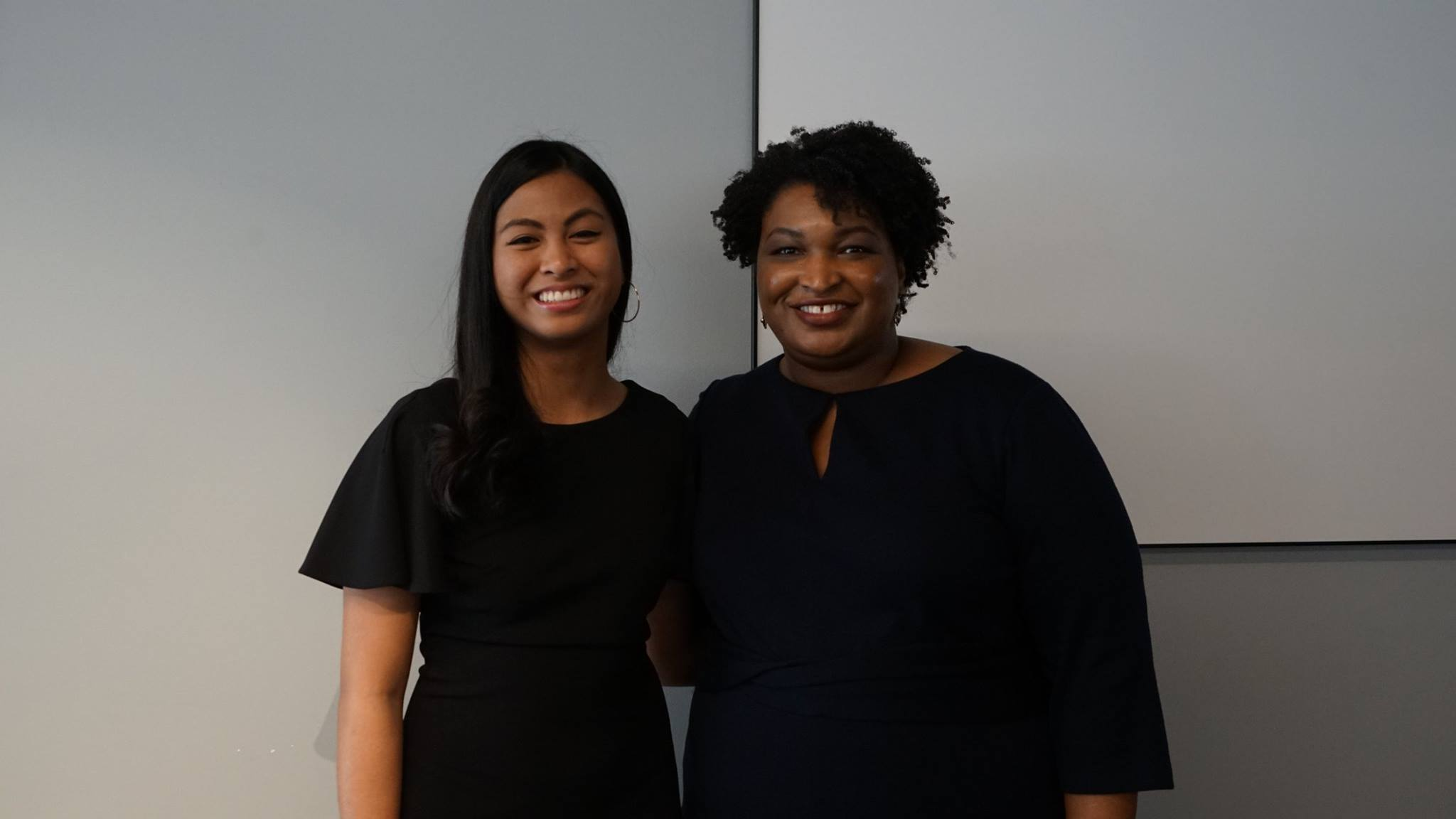 Vannalee with Stacey Abrams
