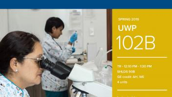 Spring 2019 UC Davis University Honors Program Course: UWP 102B