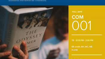 Fall 2019 UC Davis University Honors Program Course: COM 1