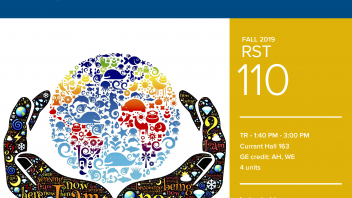Fall 2019 UC Davis University Honors Program Course: RST 110