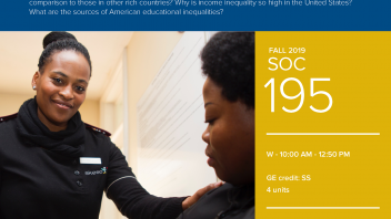Fall 2019 UC Davis University Honors Program Course: SOC 195