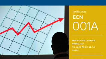 Spring 2020 University Honors Program Course: ECN 1A