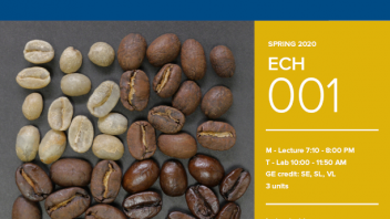 Spring 2020 University Honors Program Course: ECH 1