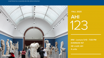 Fall 2020 University Honors Program Course: AHI 123