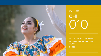 Fall 2020 University Honors Program Course: CHI 10