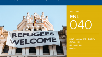 Fall 2020 University Honors Program Course: ENL 40