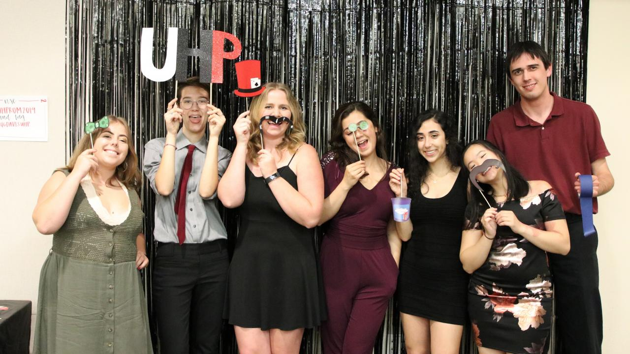 Student Activities Committee at UHProm 2019