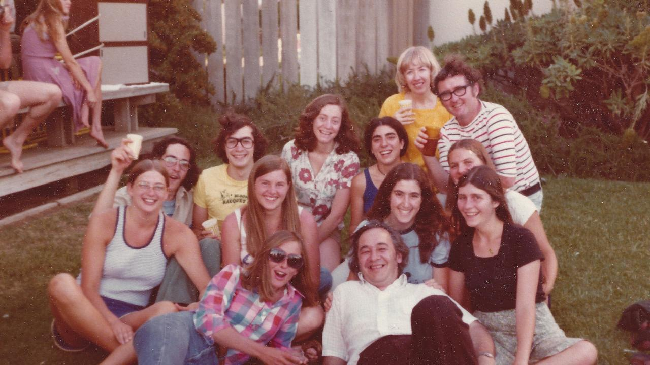 UC Davis Integrated Studies Students with Nora and Art McGuinness (1974)