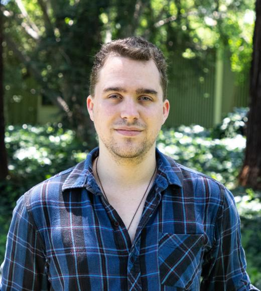 UC Davis University Honors Program student Michael Yoakam